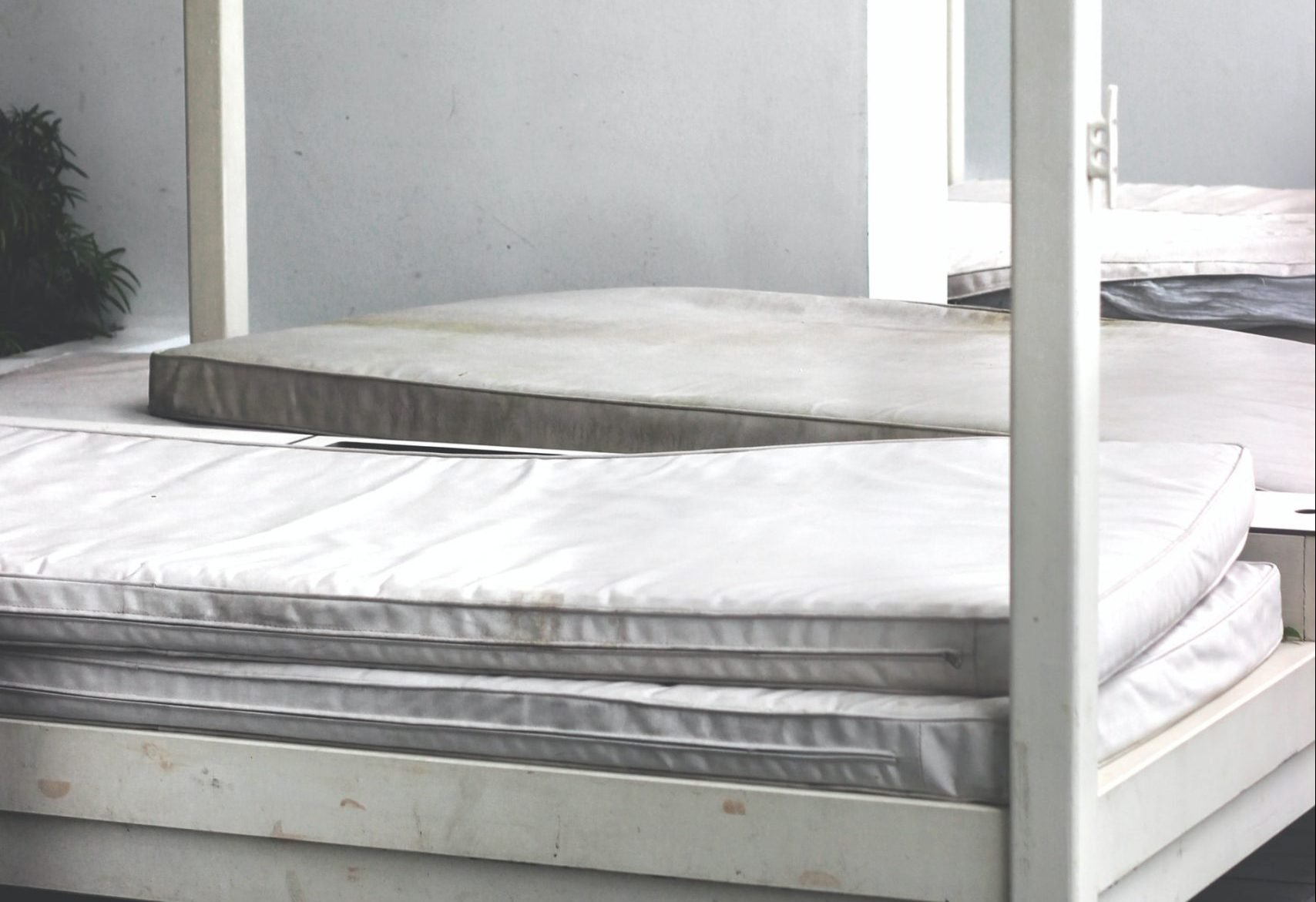 mattresses on bed