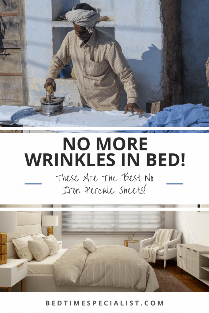 No More Wrinkles In Bed! These Are The Best No Iron Percale Sheets!